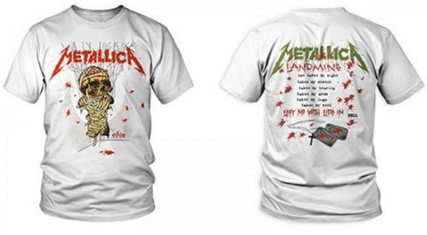METALLICA - One Landmine T-Shirt
