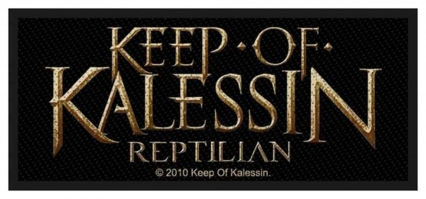 KEEP OF KALESSIN - Logo Patch Aufnäher