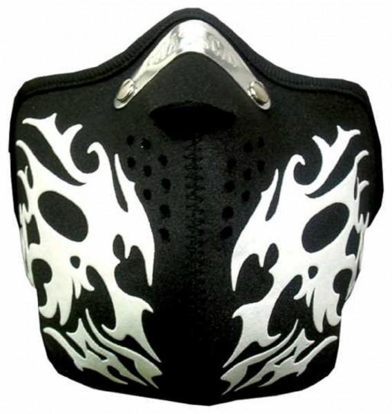 MASKE - Motorrad Gesichtsmaske Mundschutz Gesichtsschutz Tribal II