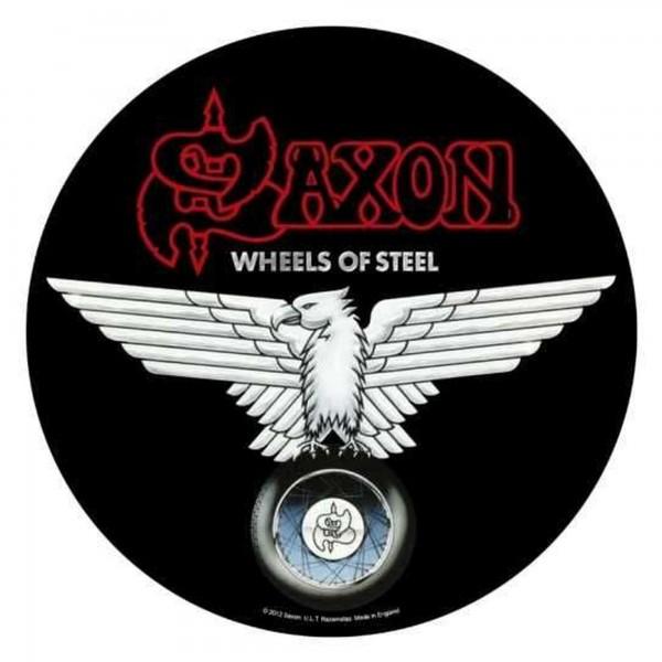 SAXON - Wheels Of Steel Backpatch Rückenaufnäher