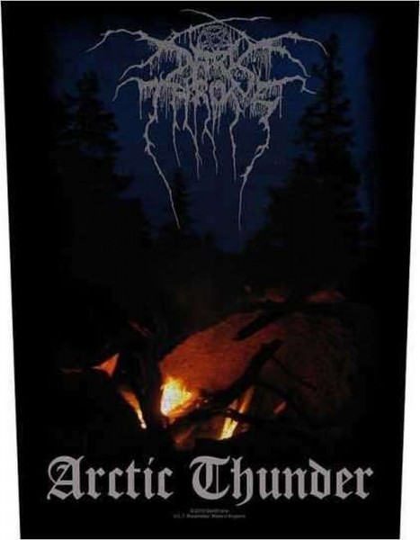 DARKTHRONE - Arctic Thunder Backpatch Rückenaufnäher