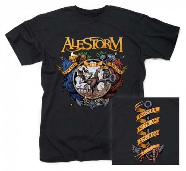 ALESTORM - Fucked with an anchor T-Shirt