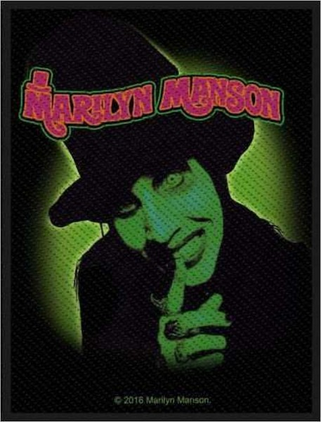 MARILYN MANSON - Smells Like Children Patch Aufnäher