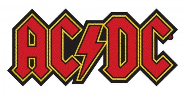 AC/DC - logo cut Patch Aufnäher