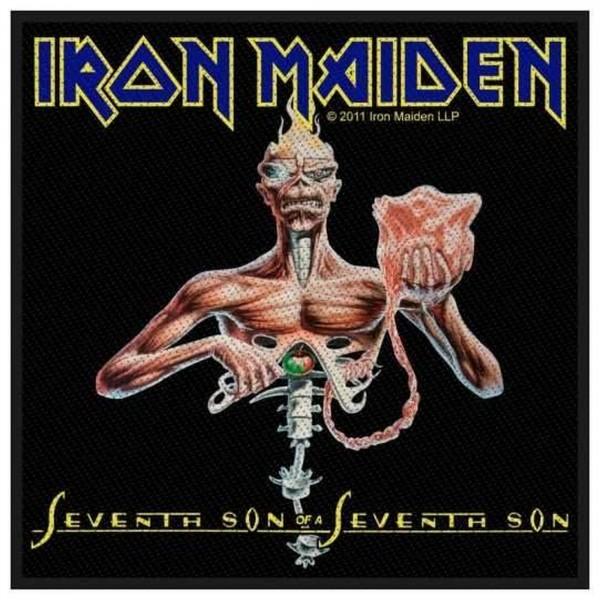 IRON MAIDEN - Seventh Son Patch Aufnäher