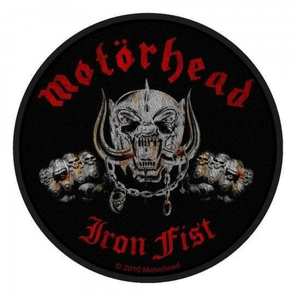 MOTÖRHEAD - Iron Fist Skull Patch Aufnäher