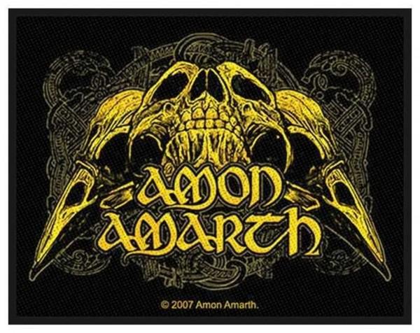 AMON AMARTH - Raven Skull Patch Aufnäher