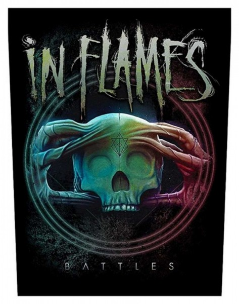 IN FLAMES - Battles Backpatch Rückenaufnäher