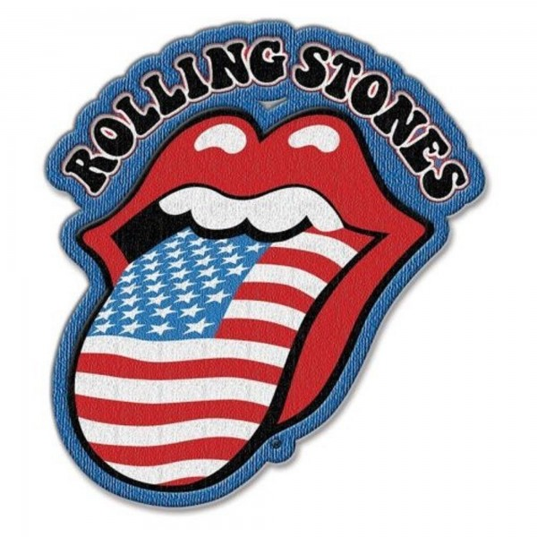 THE ROLLING STONES - US Tongue Patch Aufnäher