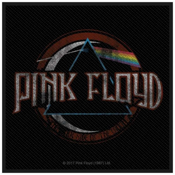 PINK FLOYD - Dark Side Of The Moon Distressed Patch Aufnäher
