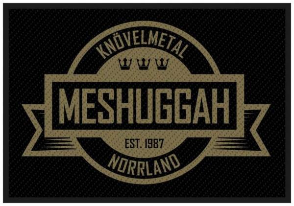 MESHUGGAH - Crest Patch Aufnäher