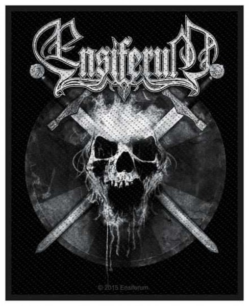 ENSIFERUM - Skull Patch Aufnäher
