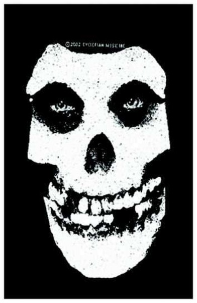 MISFITS - Skull Patch Aufnäher