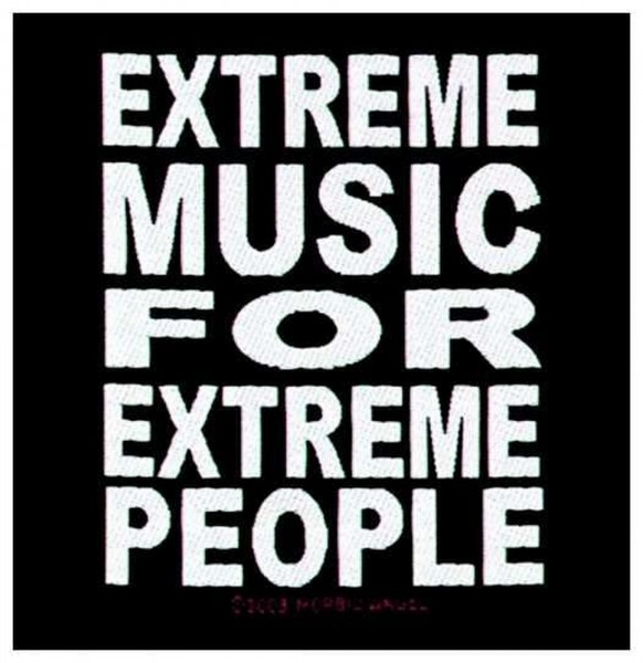 MORBID ANGEL - Extreme Music For Extreme People Patch Aufnäher