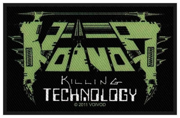 VOIVOD - Killing Technology Patch Aufnäher