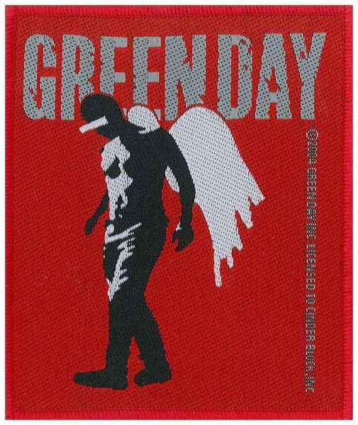 GREEN DAY - Wings Patch Aufnäher