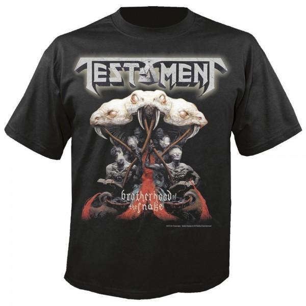 TESTAMENT - Brotherhood of the snake T-Shirt