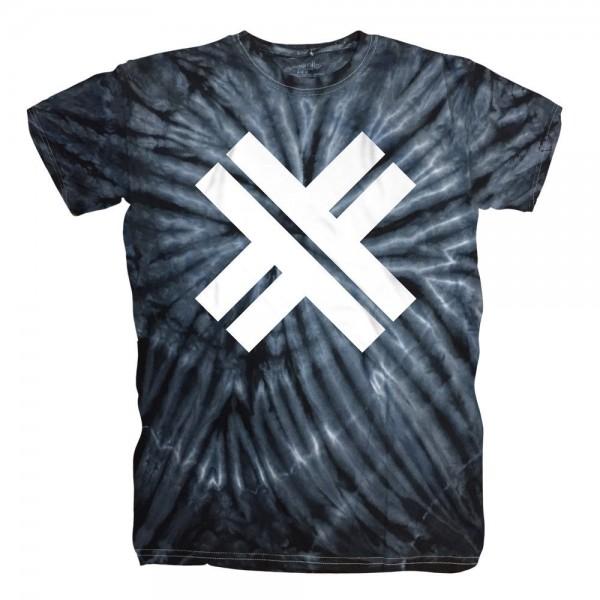 ESKIMO CALLBOY - X - Cyclone Batik schwarz-weiss T-Shirt