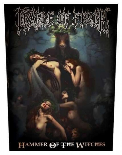 CRADLE OF FILTH - Hammer Of The Witches Backpatch Rückenaufnäher
