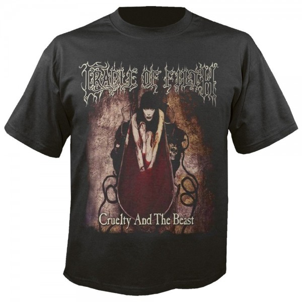 CRADLE OF FILTH - Cruelty and the beast T-Shirt