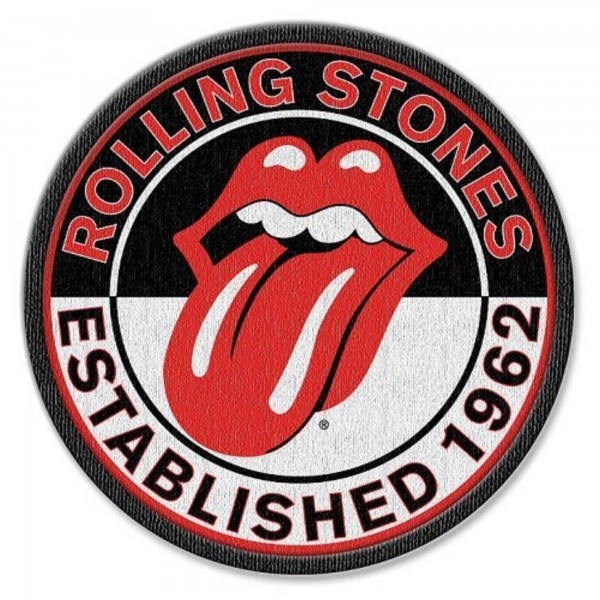 THE ROLLING STONES - Est. 1962 Patch Aufnäher