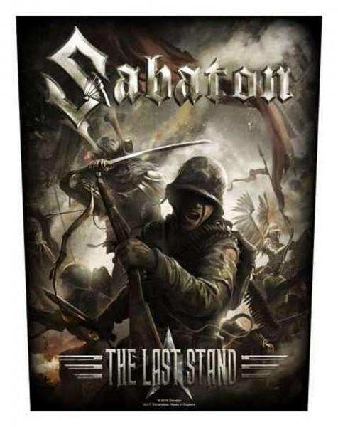SABATON - The Last Stand Backpatch Rückenaufnäher