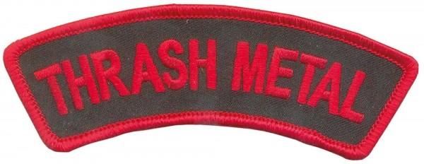 THRASH METAL - Banner Patch Aufnäher