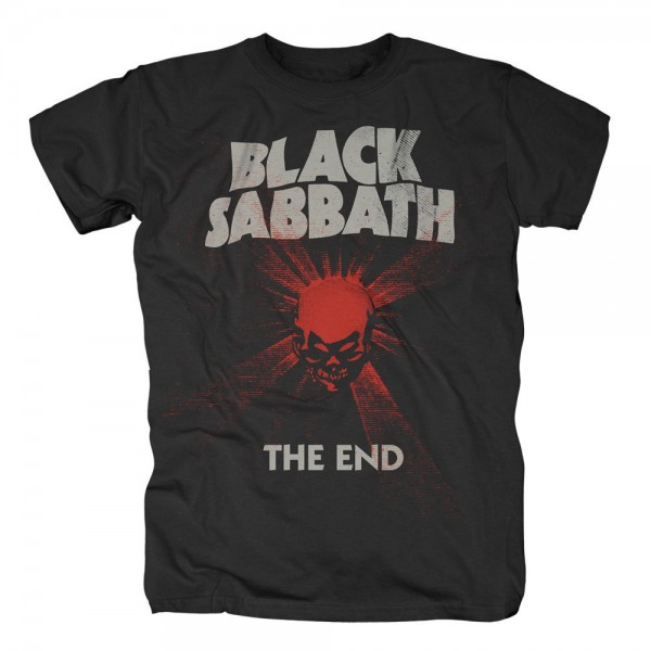 BLACK SABBATH - The End Mushroom Cloud T-Shirt