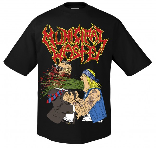 MUNICIPAL WASTE - Barf T-Shirt