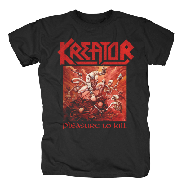 KREATOR - Pleasure To Kill Black T-Shirt