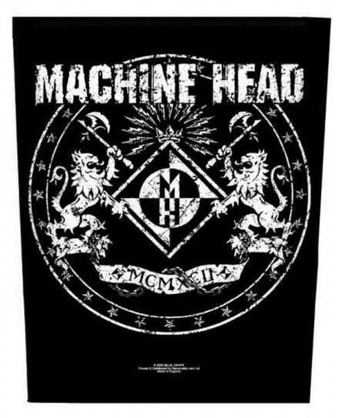 MACHINE HEAD - Classic Crest Backpatch Rückenaufnäher