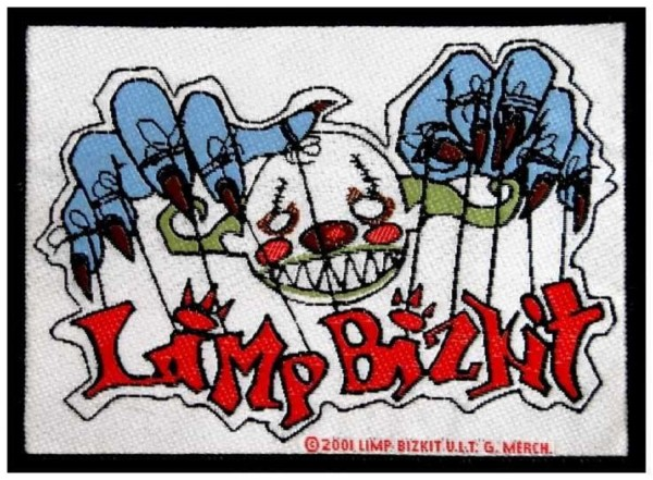 LIMP BIZKIT - Clown Patch Aufnäher