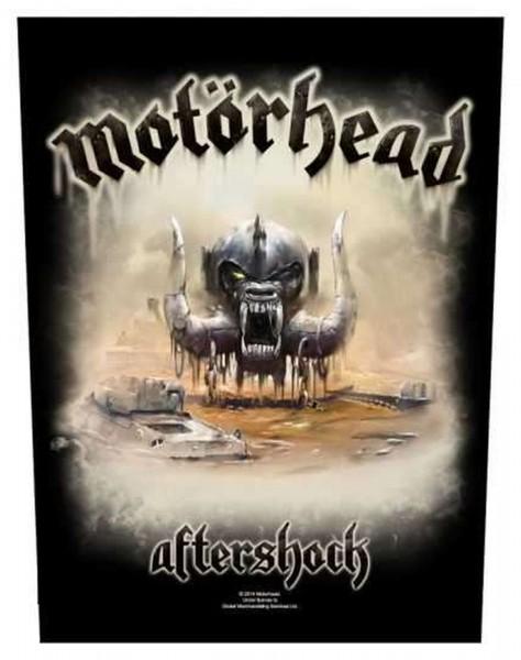 MOTÖRHEAD - Aftershock Backpatch Rückenaufnäher