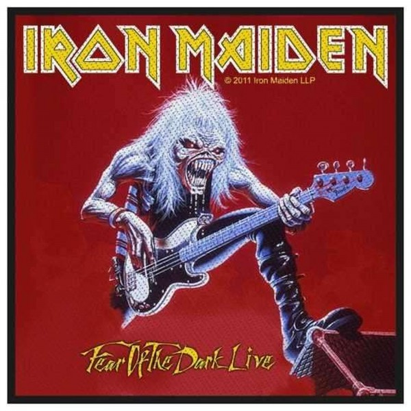 IRON MAIDEN - Fear Of The Dark Live Patch Aufnäher