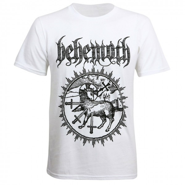 BEHEMOTH - Lamb Sigil White T-Shirt
