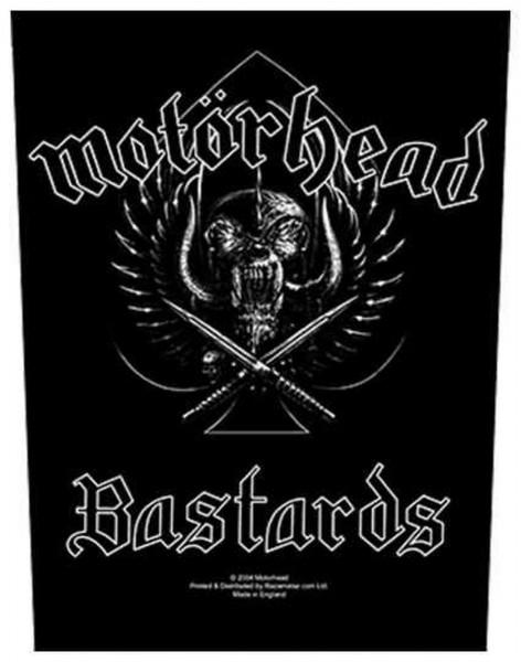 MOTÖRHEAD - Bastards Backpatch Rückenaufnäher