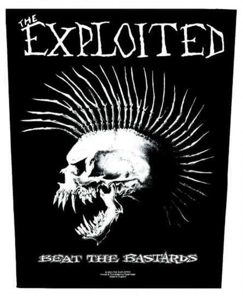 THE EXPLOITED - Beat The Bastards Backpatch Rückenaufnäher