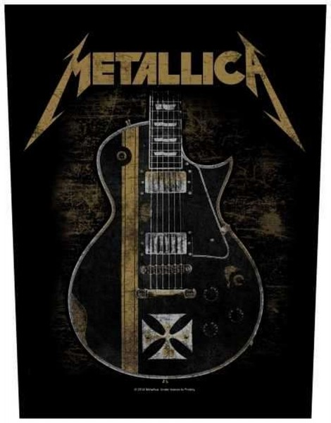 METALLICA - Hetfield Guitar Backpatch Rückenaufnäher