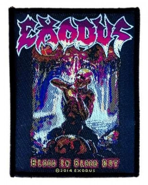 EXODUS - Blood In Blood Out Patch Aufnäher