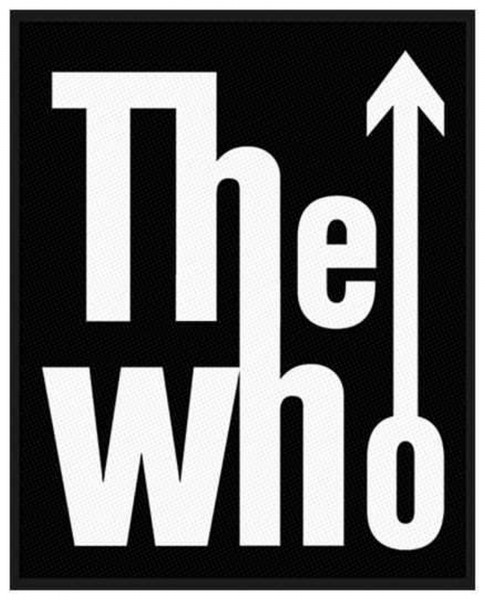THE WHO - Logo Patch Aufnäher