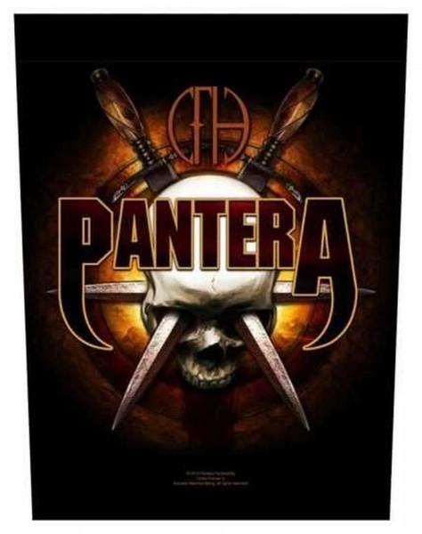 PANTERA - Skull Knives Backpatch Rückenaufnäher