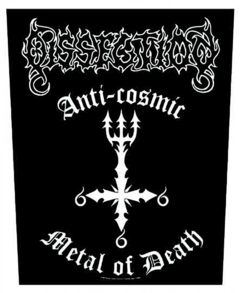 DISSECTION - Anti Cosmic Backpatch Rückenaufnäher