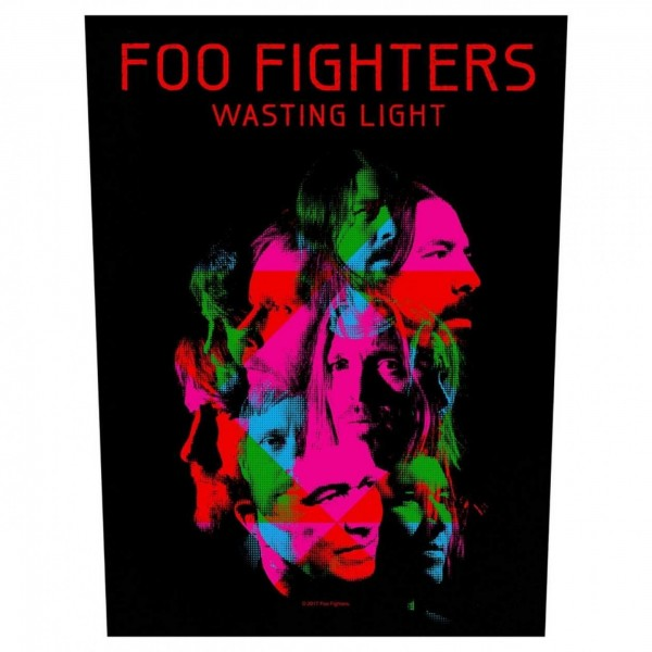 FOO FIGHTERS - Wasting Light Backpatch Rückenaufnäher