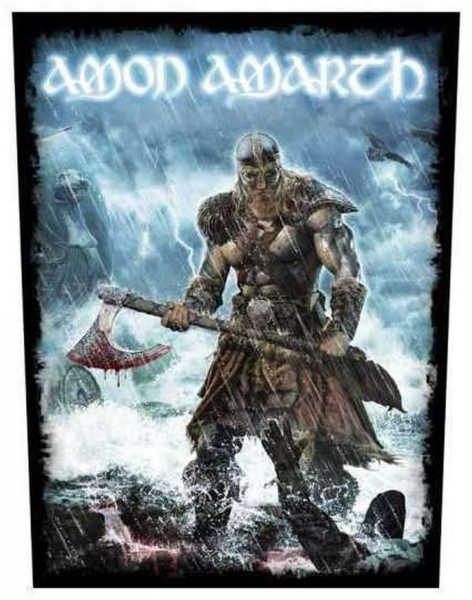 AMON AMARTH - Jomsviking Backpatch Rückenaufnäher