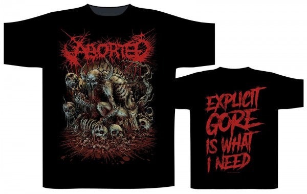 ABORTED - God Machine T-Shirt