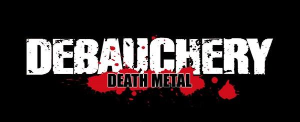 DEBAUCHERY - Logo Patch Aufnäher