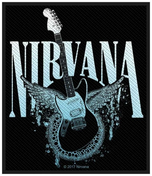 NIRVANA - Guitar Patch Aufnäher