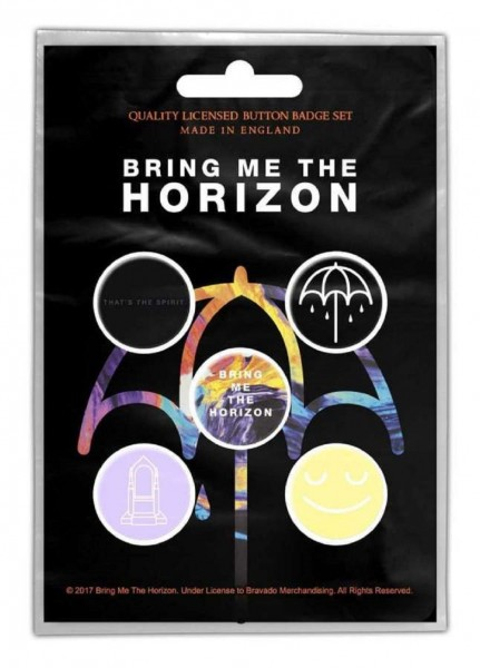 BRING ME THE HORIZON - That´s The Spirit Button-Set Badge Pack