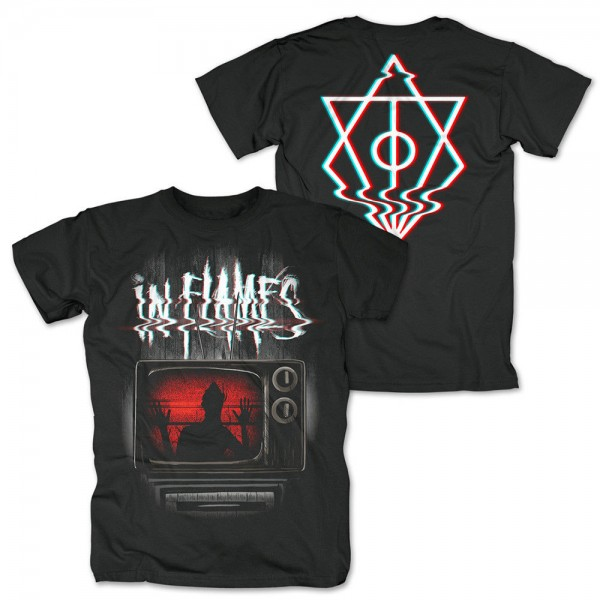 IN FLAMES - Kill Your TV T-Shirt