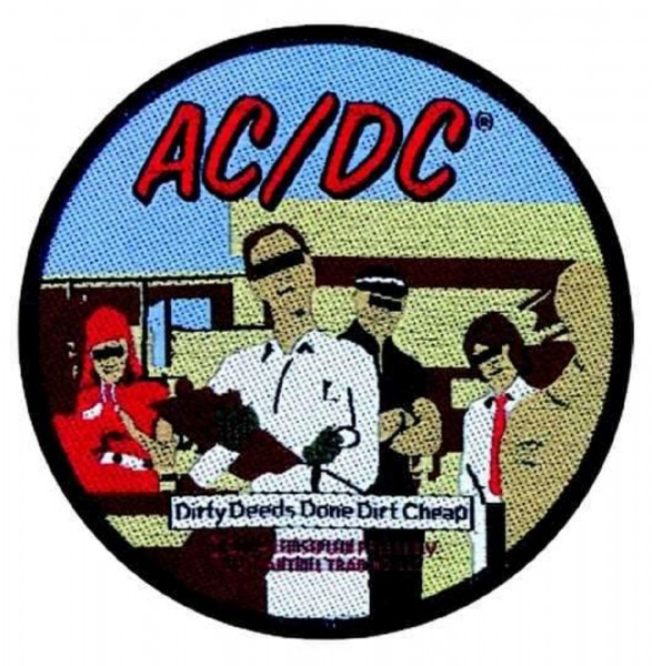 AC/DC - Dirty Deeds Patch Aufnäher